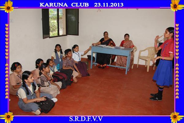 karuna_club Smt Ramkuwar Devi Fomra Vivekananda Vidyalaya